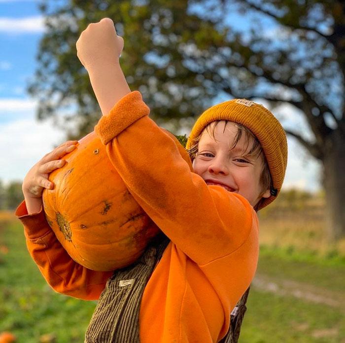 Pumpkins sold out at Ha ha farm