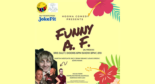 Hooma Comedy welcomes you to this funny evening at the…