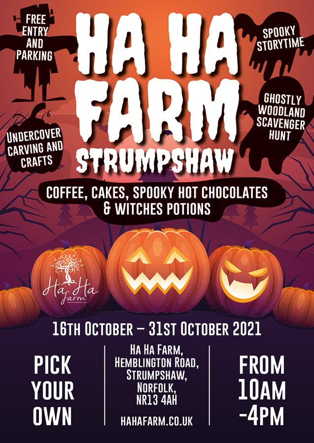Ha ha farm Halloween